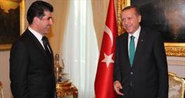 نیچروان بارزانی و اردوغان