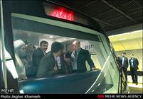 بهره برداري از طولانيترين خط متروی خاورميانه/ میدان هفتتیر به زیر زمین میرود