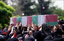 پیکر یک شهید گمنام در قم تشییع شد