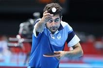 حذف زودهنگام نوشاد عالمیان از مسابقات تنیس روی میز المپیک
