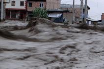 دو سوم شهرستان آق قلا درگیر آب گرفتگی شد