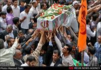 پیکر دو شهید گمنام وارد فرودگاه بوشهر شد