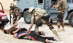عمليات سامراء تعلن اعتقال ستة إرهابيين كانوا يخططون لتنفيذ هجمات