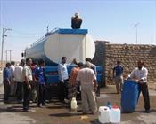 قطع آب در روستا