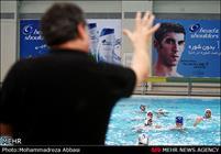 تمارين الفريق الوطني لكرة الماء /صور