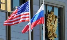 پرچم آمریکا روسیه