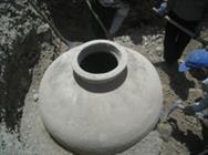 یک خمره متعلق به دوره ساسانی در مسجد میرزا احمد اصفهان کشف شد