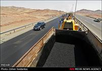 بهسازی آسفالت آزادراه قم ـ تهران