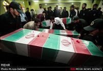 آئین استقبال از شهدای گمنام در شیراز