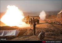 القوات العراقية تصد هجوم واسع لعصابات داعش شمالي الموصل
