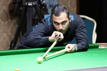 Iranian snooker player improves his global ranking