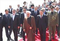 ورود رییس جمهور به تاجیکستان/ مذاکرات خصوصی روحانی - رحمان