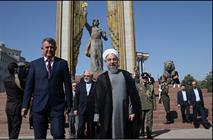 رییس جمهور در بنای یادبود امیراسماعیل سامانی حضور یافت