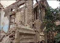ساختمان کفش ملی در حال تخریب کامل است