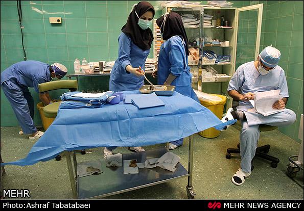 هزینه عمل لازیک در بیمارستان فارابی