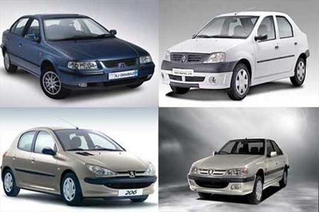 قیمت زنده خودروهای ایرانی