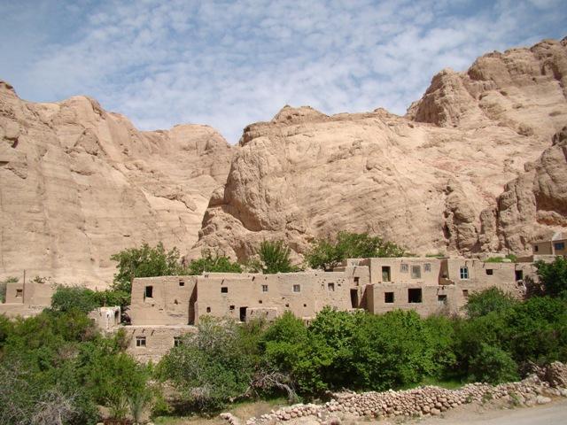 روستاي قطرم در بافق، روستا