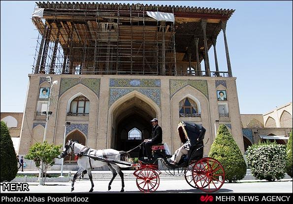 بناهای تاریخی و جاذبههای گردشگری استان اصفهان باز شدند