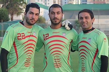 انتقال سوشا مکانی دروازه بان تیم ملی به زندان اوین