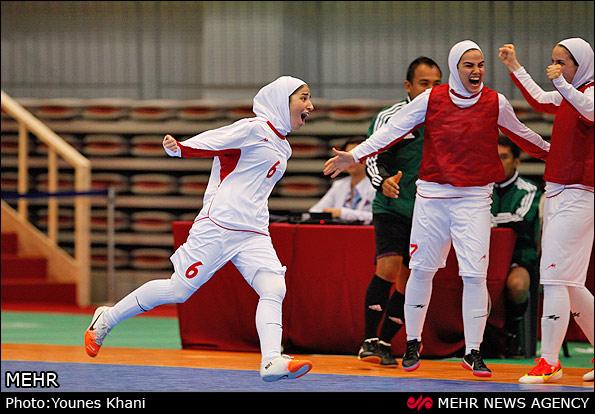 فوتسال زنان ایران قهرمان آسیا