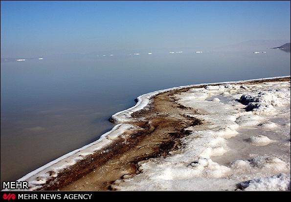 ردی از دریاچه ارومیه