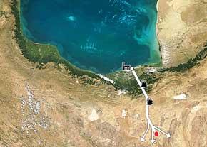 اعلامیه مشترک در مخالفت با طرح انتقال آب دریای کاسپین (Caspian Sea) به سمنان