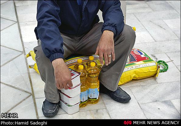 توزیع سبد کالا در کرمان