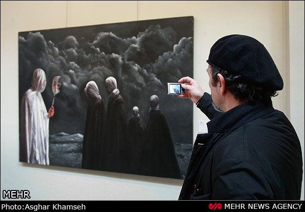 جشنواره فجر نقاشي