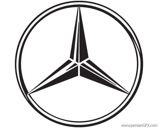 D Line Drawings Logo : نامه اعتراض نطنزی ها به شرکت مرسدس بنز آرم متعلق