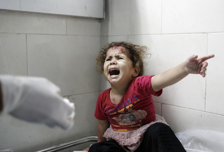 عکس دختر فلسطینی روز قدس