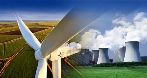 انرژی بادی و هسته ای