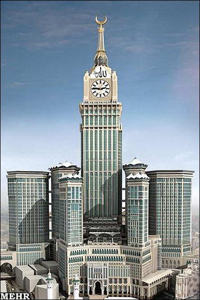 برج ساعت جغرافیای آسمانی کعبه را شکست - خبرگزاری مهر   اخبار ایران و جهان    Mehr News Agency
