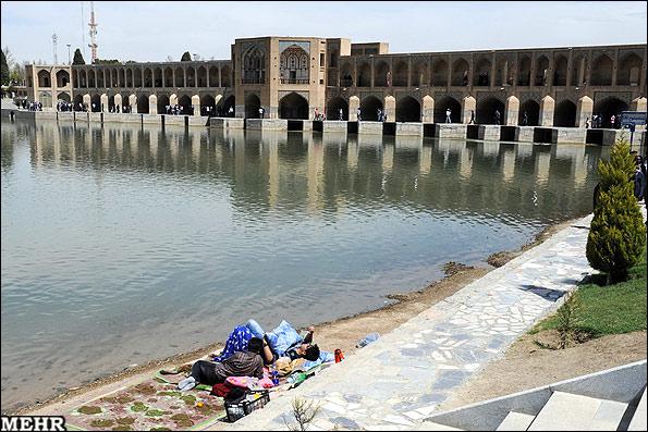 عکسهایی از سیزده بدر در اصفهان