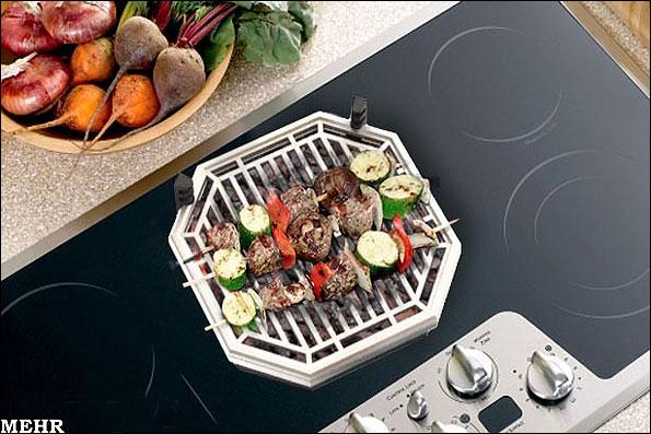 ابداع یک کباب پز بدون دود ویژه استفاده در آپارتمان - خبرگزاری مهر ...ابداع کباب پز بدون دود طعم واقعی کباب را حتی در روزهای بارانی مهیا می کند