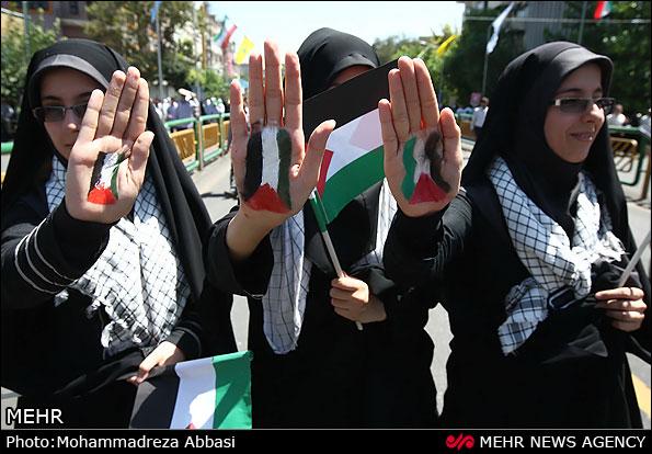 تصاویر راهپیمایی روز قدس | Www.FarsiMode.Com