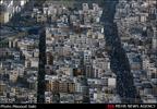 تهران از فراز برج میلاد