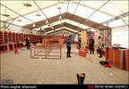 روند آماده سازی نمایشگاه کتاب تهران